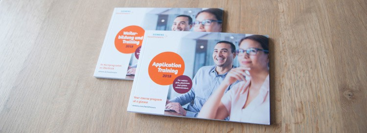 Siemens Healthcare GmbH | Broschüre Application Training 2018