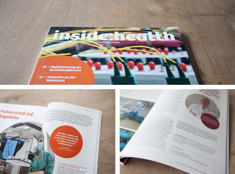 Siemens Healthcare GmbH   Kundenzeitschrift inside:health