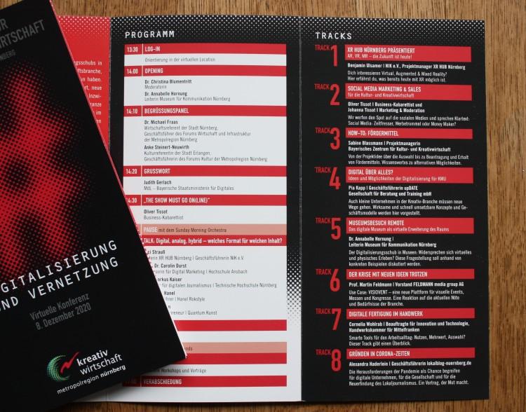 Programm 10. Symposium zur Kultur- und Kreativwirtschaft EMN